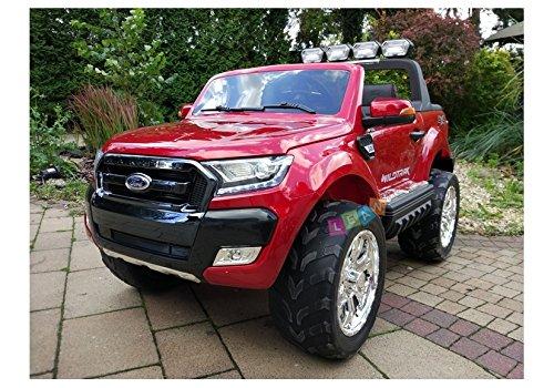 precios al por mayor Vehículo Eléctrico para niños Ford Ford Ford Rojo  compras online de deportes