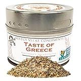 Taste of Greece, Non-GMO, 2.7 oz, Seasoning