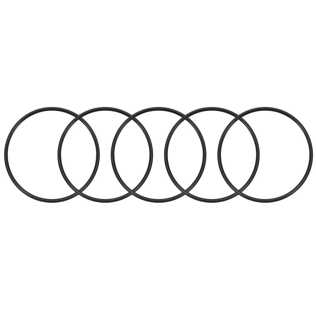 sourcing map 10Stk.O-Ringe Nitril-Gummi 31mm x 37mm x 3mm Seal Ringe Dichtung DE de