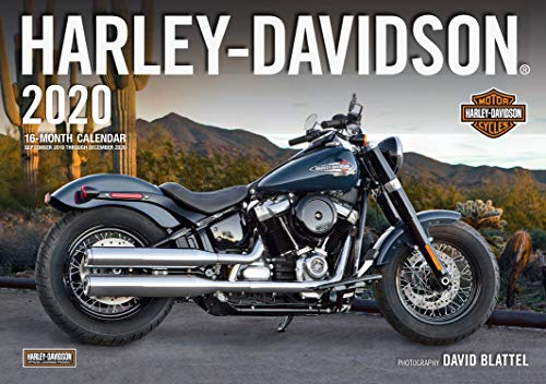 Harley-Davidson 2020: 16-Month Calendar September 2019 Through December 2020 (Chopper Calendar)