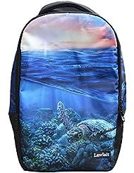 Belastry 18 Inch 3D Animal Print Casual School Student Backpack Outdoor Travel Bag