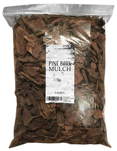 Pine Bark Mulch, 100% Natural Pine Bark Mulch, House Plant Cover Mulch, Potting Media, and More - Chips Garden Wood