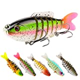 SeaKnight Fishing Lures Multi Jointed Bait 7 Section Bass Bait 80mm 19g Sinking Life-like Swim Hard CrankBaits