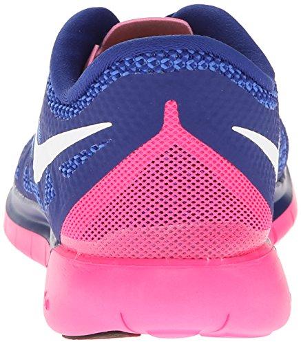 Nike Wmns Free 5.0, Scarpe Da Corsa da donna Navy/Pink