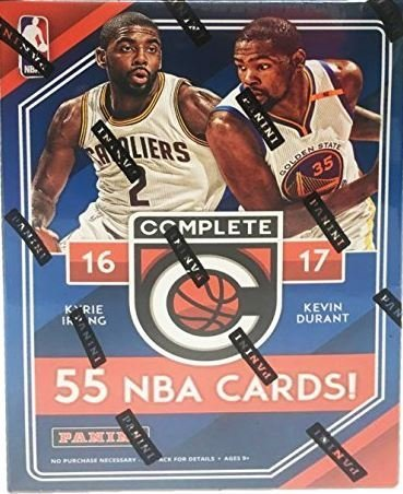 Panini 2016 - 2017 NBA Complete Factory Sealed Basketball Cards by Panini