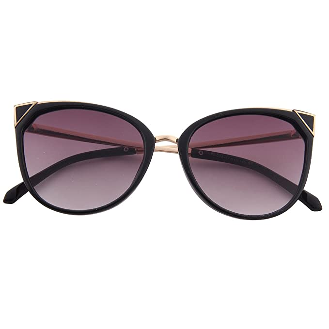 ogobvck les lunettes de soleil uv400 cateye mode moderne miroir (violet) wBYsgedl0D