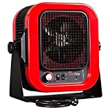 Cadet RCP402S Space Heater, ''The Hot One'' Portable with Bracket, 4000W, 20 Amp, Red