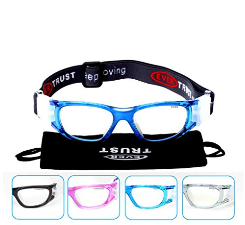 6d4f32bb2f Galleon - EVERSPORT Kids Sports Goggles Safety Protective Basketball Glasses  For Children With Adjustable Strap For Basketball Football Volleyball Hockey  ...