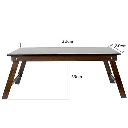 Mesa portátil de bambú, niños que aprenden mesa de dibujo mesa de ...