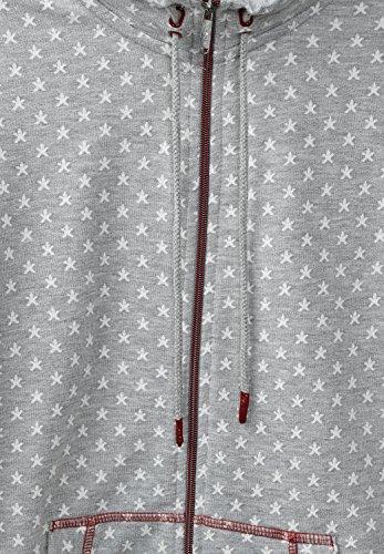 Cecil - Chaqueta - Estrellas - para mujer mineral grey melange (grau)