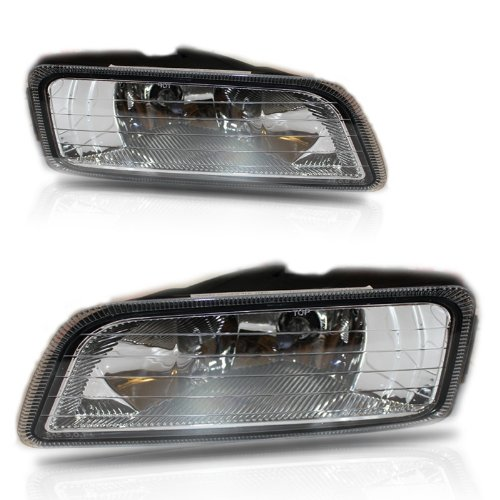 Style Fog Lights Kit - Honda Accord 2006-2007 Sedan Foglight set JDM Japan style full kit direct fit 4door only