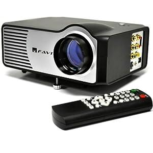 Favi riohd led 2 mini projector with 100 for Mini projector usa