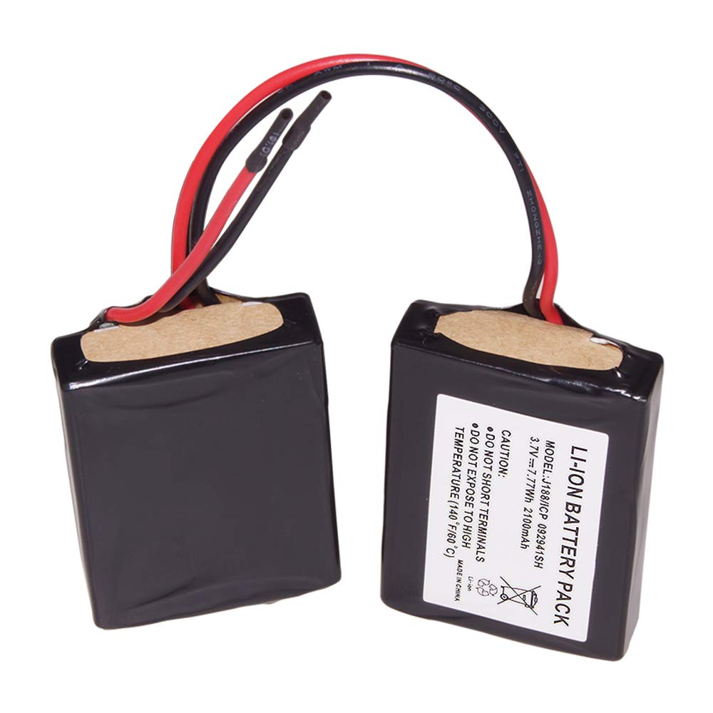 Beats Pill 1.0 Battery, Kratax 2100mAh Replacement Battery Fits J188/ICP092941SH Battery Bluetooth Wireless Portable Speaker
