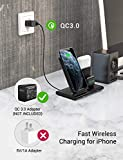 Seneo Wireless Charger, 3 in 1 Wireless Charging