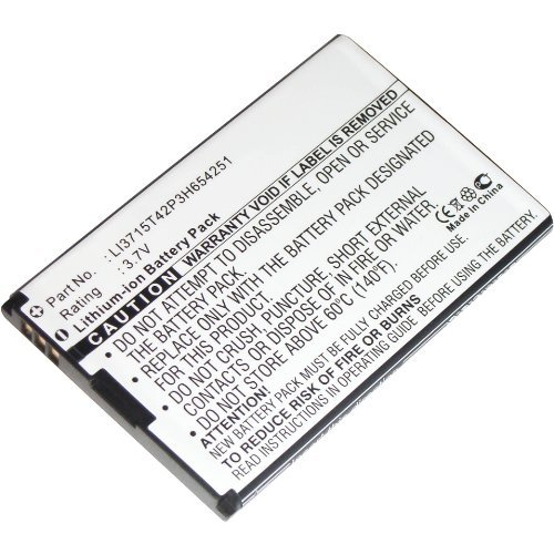 Wireless Router battery for ZTE: LI3715T42P3H654251, A6, AC30, MF30, MF60, MF61, LI3715T42P3H654251, D800, D810, F165, N960, R750, U215, U230, U232, U720, U722, U728, U900