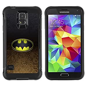 Kobe Diy Case Rugged hybrid Protection Impact Case Cover FOR S5 Case , G9006 Cover Case ,Leather for S5 ,S5 Cover Leather Case ,G9006 Leather Case / Bat Superhero /