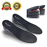 "Height Increase Insole, 3-Layer Orthotic heel shoe lift kit with Air cushion Elevator Shoe Insole lifts kits Inserts for Men & Women Taller Insoles 1.2'' to 2.75"" variable height adjustable by MT-AMZ"