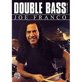 """Cover of the Joe Franco video """"Double Bass Drumming"""" on instant access"""