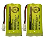 Axiom Rechargeable Battery For AT&T and Vtech Phones BT-8300 / BATT-6010 / BT18433 / BT184342 / BT28433 / BT284342 / 89-1326-00-00 / 89-1330-01-00 / CPH-515D (2-Pack)