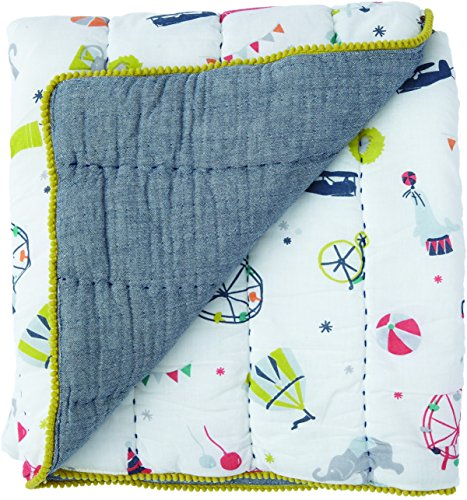 Quilted Stroller - Pehr Big Top Quilted Blanket