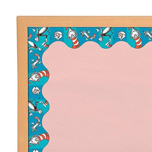 Fun Express - Cat in The Hat Bulletin Border - Educational - Classroom Decorations - Classroom Decor - 12 -