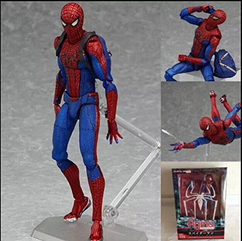 Figma 199 The Amazing Spider-Man Action Figure Superhero Spiderman PVC Action Figure Assembly Toy (Spiderman Cosplay For Sale)