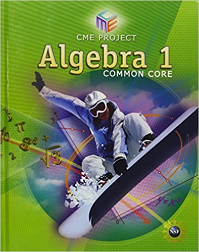 Amazon high school math cme common core algebra 1 student high school math cme common core algebra 1 student edition grade 912 fandeluxe Images
