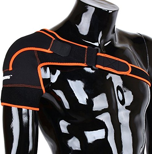 ZJchao Geringes Gewicht Einstellbare Gym Sport Schulterbandage für Herren und Damen