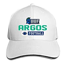 BOoottty University Of West Florida Argonauts Football Flex Baseball Cap White