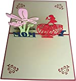 Search No More! You Have Arrived At Your Ideal Mother Day Cards Pop Up From LeBeila Products! ● Product Name: Mother Day Cards Pop Up Greeting Card - LeBeila Greeting Cards For Mothers Day With Envelope Creative Handmade Paper Card For MOM, Anniversa...