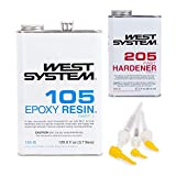 West System 105B Epoxy Resin (126.6 fl oz) Bundle