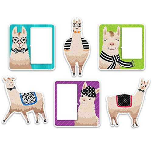 "Creative Teaching Press  Bold & Bright Llamas Cut Outs 6"" (3377)"