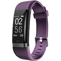 AUSUN 131HR Fitness Tracker, cardiofrequenzimetro con Collegamento GPS Fitness Wristband, contapassi, con modalità 14 Sport Sonno Monitor Passo contatore Calorie Orologio per Android e iOS