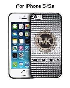 Iphone 5 / 5s Funda Case Brand Logo MK-- Michael Kors Protector Dust Proof Solid Impact Resistant Anti Slip Funda Case Cover