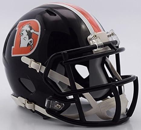 sports shoes 3e2f9 8a473 NFL Denver Broncos Alternate 2016 Color Rush Revolution Speed Mini Helmet