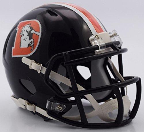 NFL Denver Broncos Alternate 2016 Color Rush Revolution Speed Mini Helmet