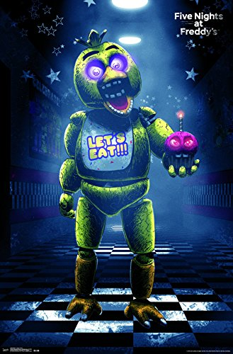 Trends International Five Nights At Freddy's Classic Chica Wall Poster 22.375