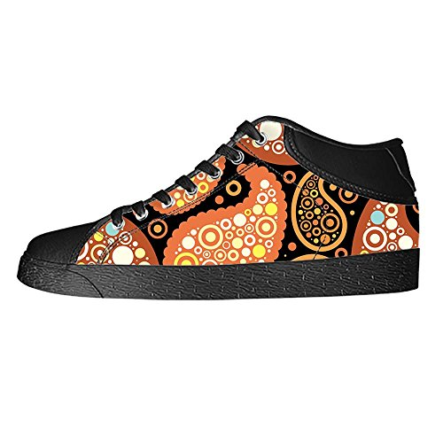 Farbige Schuhe Print Lace Canvas shoes Leinwand Segeltuchschuhe top C up Schuh High Mens Sneakers Paisley Dalliy Turnschuhe d0nAYd