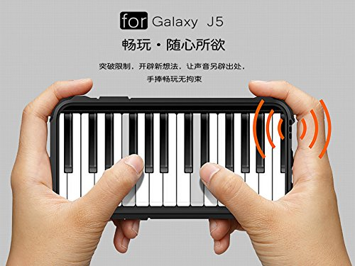 Fundas Galaxy J7 2015,XINYUNEW TPU+PC [Regalo 2.5D Cristal Vidrio Templado] Premium Armadura Híbrido caja de la armadura para el teléfono Silicona Carcasa Case Funda para Galaxy J7 2015 Armada Armada