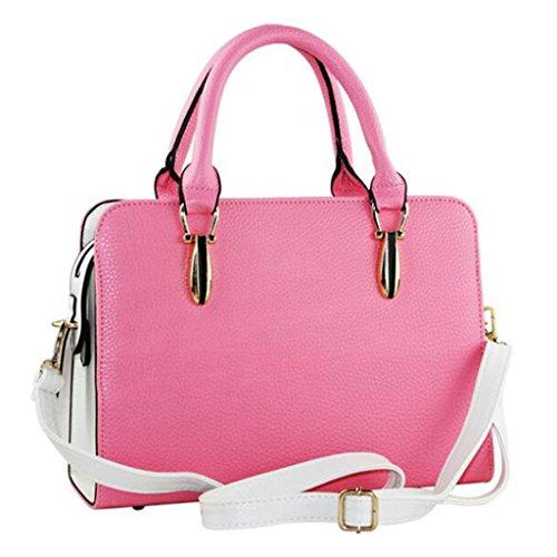 A Cm Tracolla E 30 Semplice Dettagliata Moda Pink colore dimensioni Liu 22 Borse Borsa Black Femminile Selvaggia 11 6E6pA