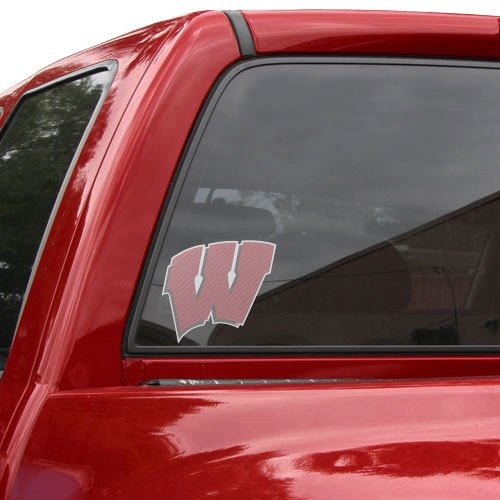 UPC 614934916537, NCAA Wisconsin Badgers Large Perforated Window Decal
