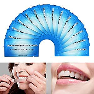 Experience EZGO Advanced Seal Technology EZGO Teeth Whitening Strips whitens teeth like a professional-level treatment. Remove 14 years of stains in just 30 minutes a day. Advanced Seal Technology helps the strip to mold to the unique shape of your t...