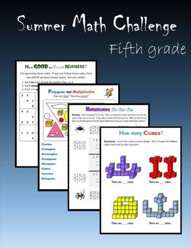 Summer Math Challenge:  Fifth grade
