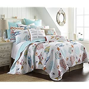 51Tze9yYGVL._SS300_ Coastal Bedding Sets & Beach Bedding Sets