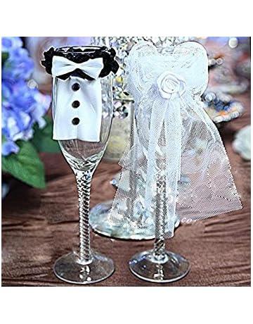 Bei wang Boda del vidrio de vino decoración de los encantos / decoraciones tabla de la
