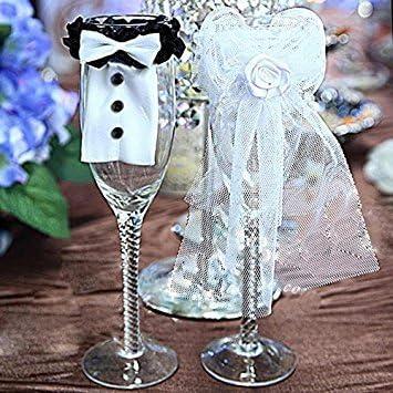 Bei wang Boda del vidrio de vino decoración de los encantos ...
