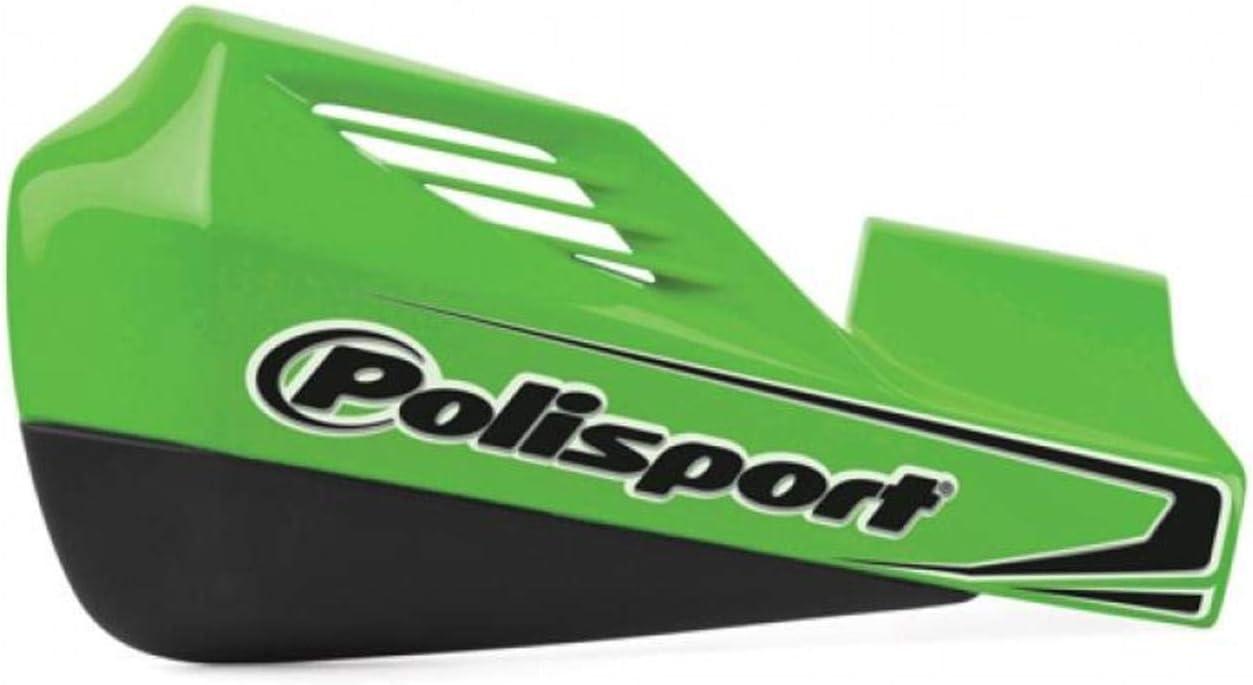 Green Polisport MX Rocks Handguards