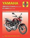 Yamaha YBR125 & Custom, XT125R/X Service & Repair Manual 2005 to 2016