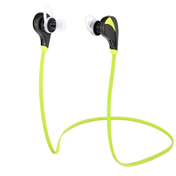 Wilker Bluetooth Wireless Over-ear Stereo Earphone, Noise Cancelling Gym Running Exercise Sports Handfree