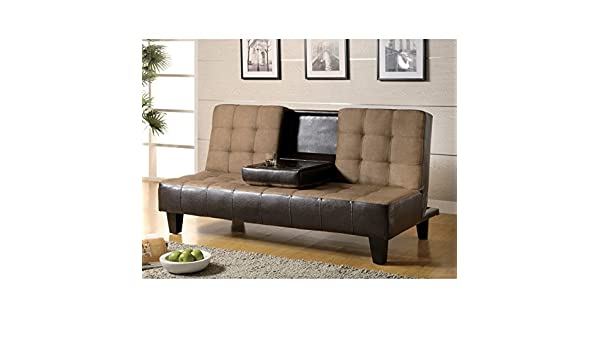 Amazon.com: Coaster Camas Convertible Sofa: Kitchen & Dining